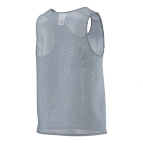 Футбольная манишка adidas Training Bib II серая