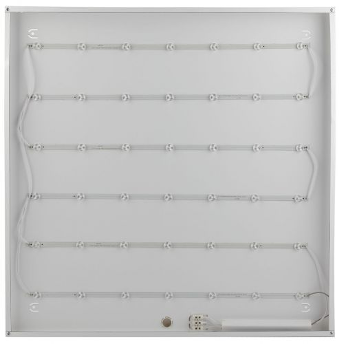 Светодиодный светильник армстронг 36вт 595x595x19 призма