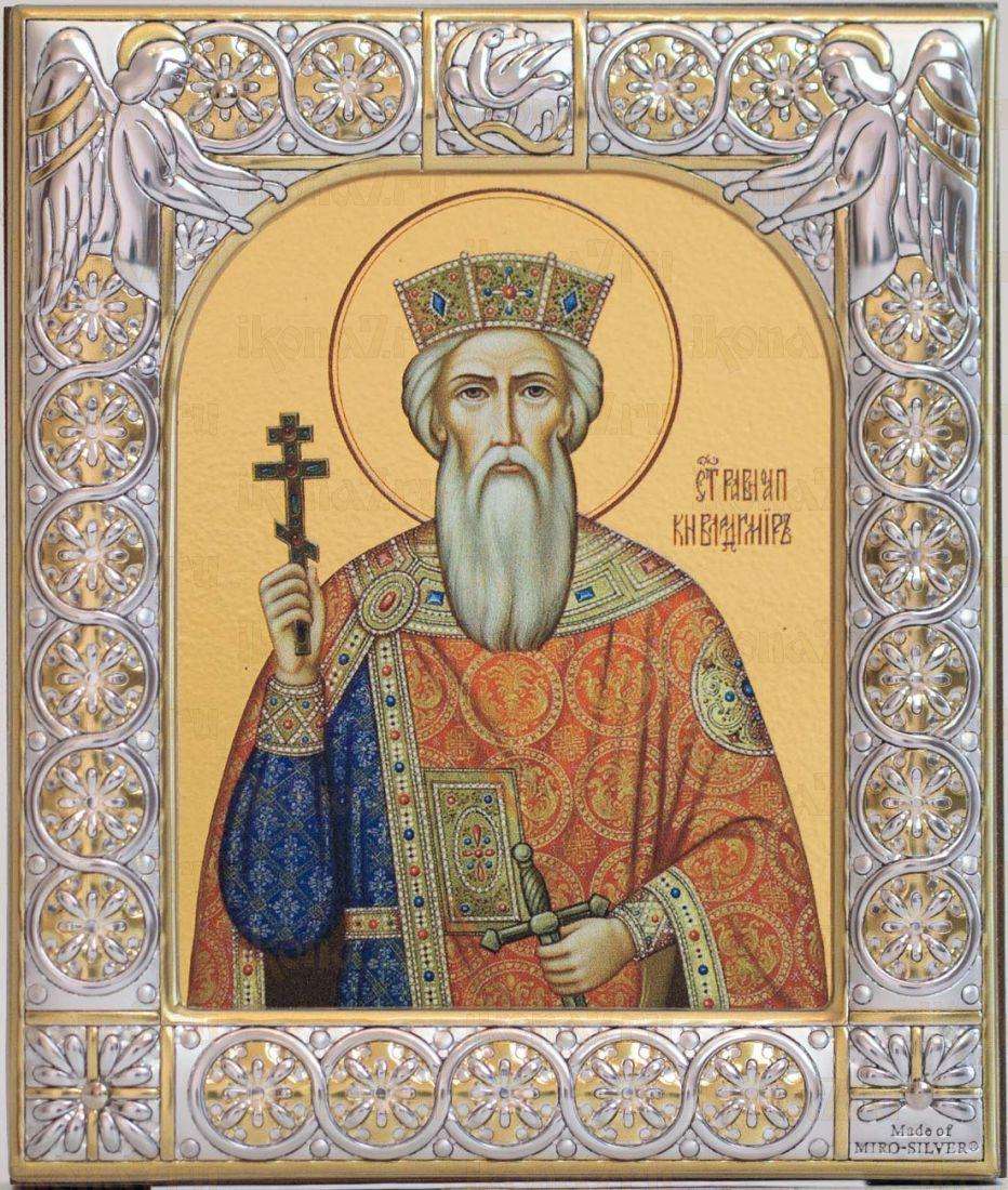 Икона Князь Владимир (9х10,5см)