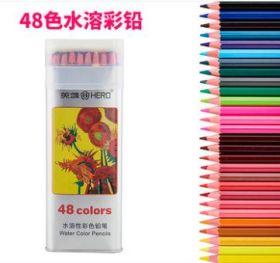 Акварельные карандаши Hero  набор 48 цветов