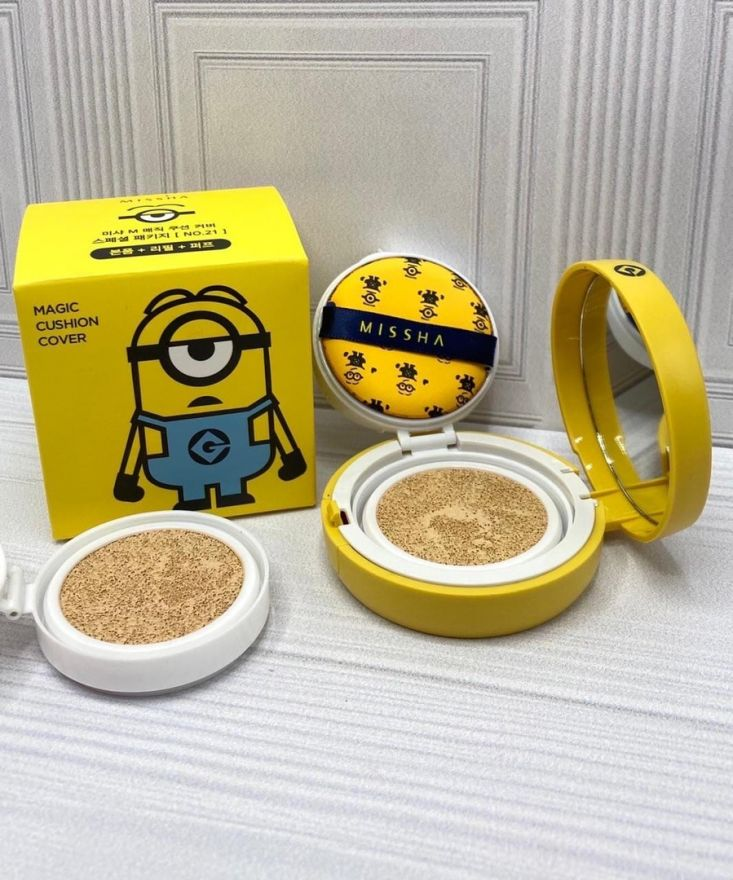 Кушон Миньон Edition M Magic Cushion Moisture Special Set SPF50+/PA+++ (8180)