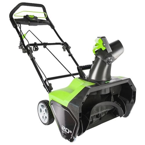 Снегоуборщик greenworks GES13 (2600507)