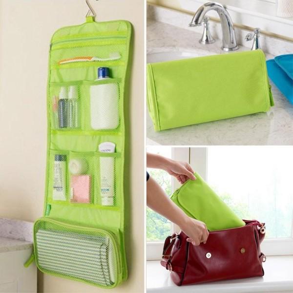Дорожная сумка для гигиенических принадлежностей Travel Storage Bag, розовый