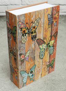 Книга-сейф Бабочки (24*16 см)