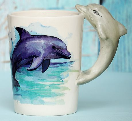Кружка Дельфины
