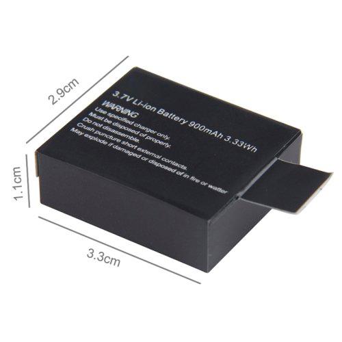 Орбита OT-VNG09 аккумулятор для экшн-камер (900мА) (УПАКОВКА 5ШТ)