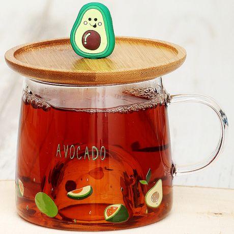 Кружка Авокадо 2 (310 мл., стекло)