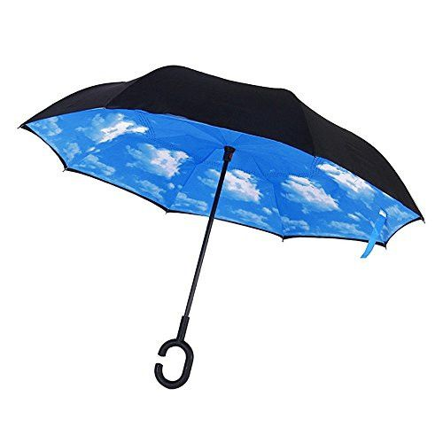 Зонт наоборот (Обратный зонт) Небо