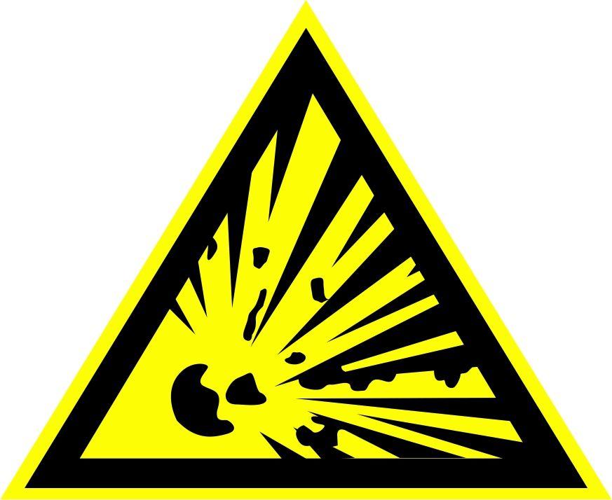 """W02 """"Взрывоопасно"""""""