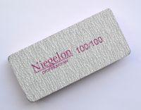 Баф Niegelon серый для ногтей 100/100 (прямоугольный)