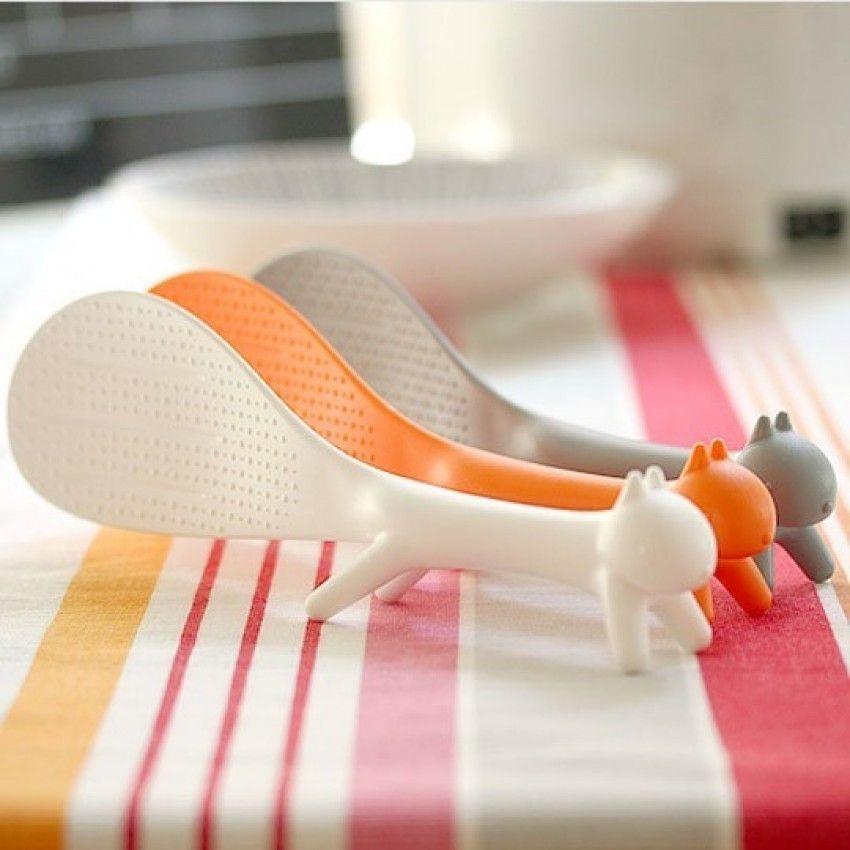 Кухонная лопатка с ножками Белочка