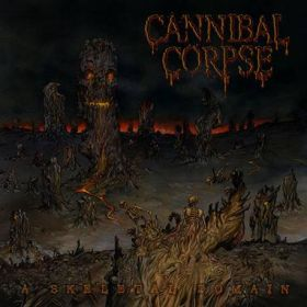 "CANNIBAL CORPSE ""A Skeletal Domain"" 2014"