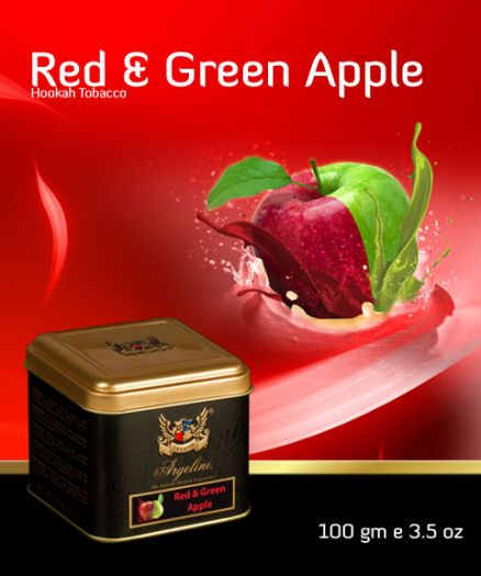 Argelini Red and Green Apple 100гр