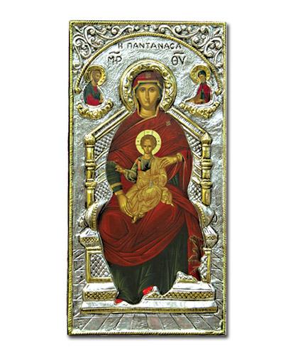 Икона Богородица на троне (Греция)