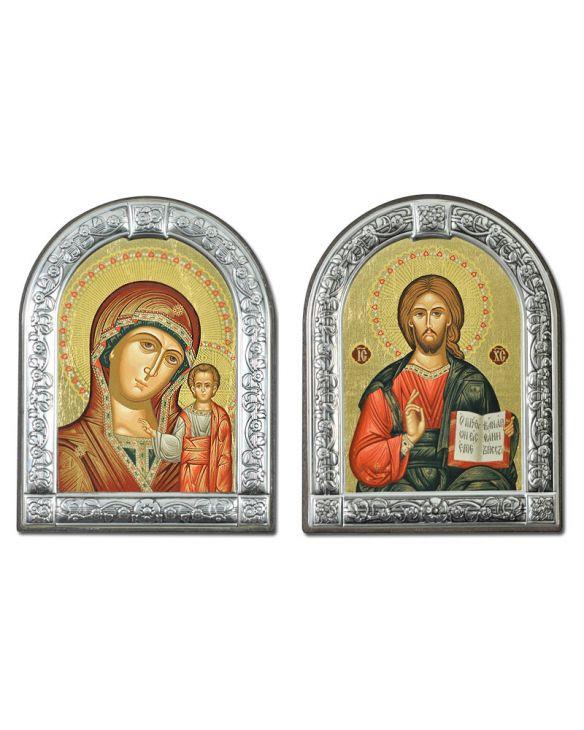 Венчальная пара икон Казанская и Вседержитель (Греция)