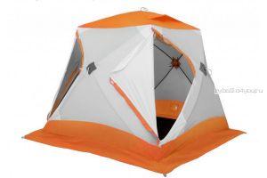 Палатка зимняя  Лотос Куб Классик С9 Оранжевая (модель 2018)