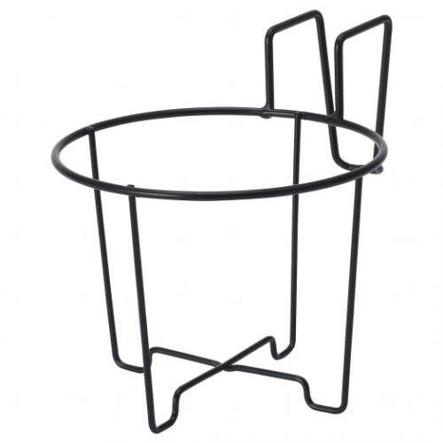 SVARTPEPPAR СВАРТПЕППАР, Держатель для кашпо, д/дома/улицы черный, 16 см - 204.757.66
