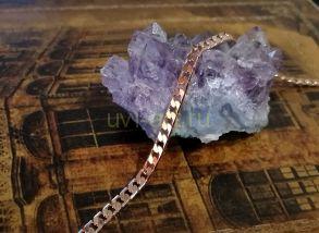 Позолоченная цепочка с эффектом алмазной грани, 4 мм (арт. 250329)