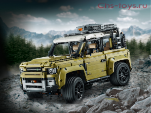 Конструктор KING Land Rover Defender 93018 (Technic 42110) 2830 дет