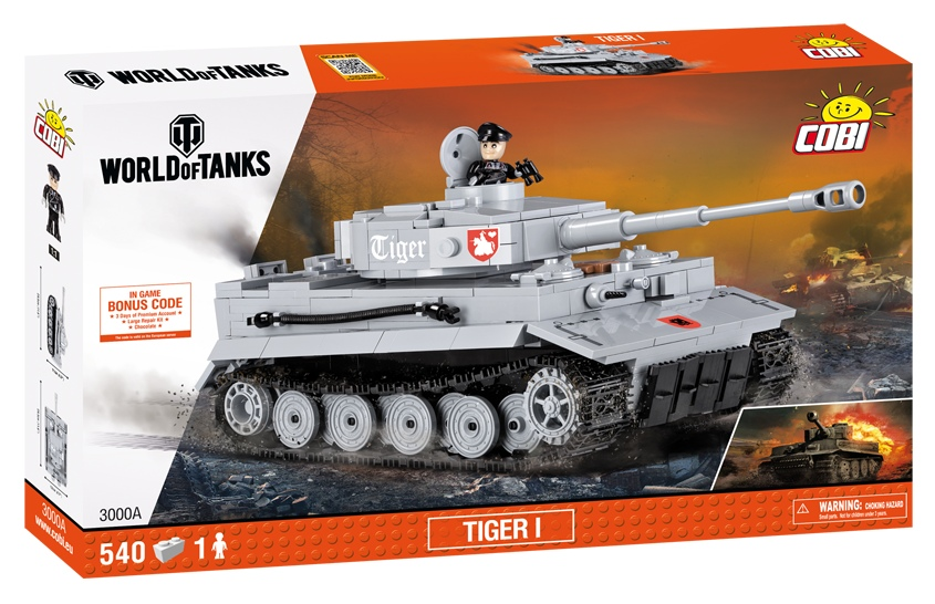КОБИ World of Tanks танк Тигр  I / Tiger I COBI-3000А