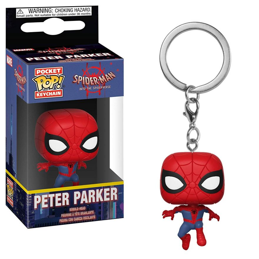 Брелок Funko Pocket POP! Keychain: Animated Spider-Man: Spider-Man 34446-PDQ