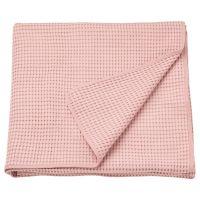 VARELD ВОРЕЛЬД, Покрывало, светло-розовый, 230x250 см - 704.062.47