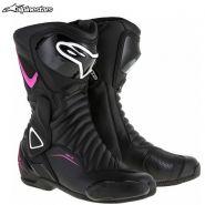 Ботинки женские Alpinestars Stella SMX-6 V2, Розовые