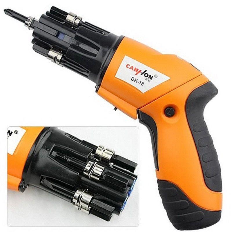 Аккумуляторная электрическая отвертка Screwdriver DK-18