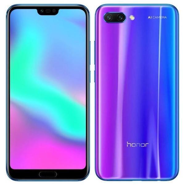 Смартфон Honor 10 4/64GB Blue мерцающий синий (COL-L29)