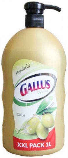 Gallus Жидкое мыло Оливковое с дозатором  1 л