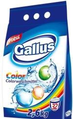 Gallus Стиральный порошок для цветного белья 32 стирки 2,6 кг