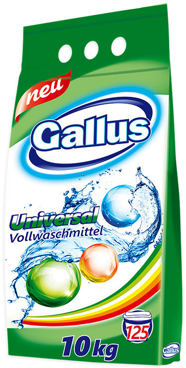 Gallus Универсальный стиральный порошок 10 кг