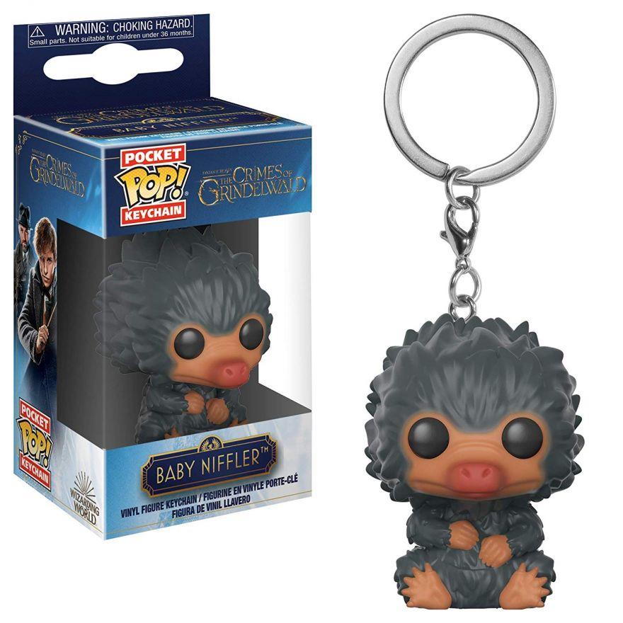 Брелок Funko Pocket POP! Keychain: Фантастические твари2(FantasticBeasts2):Baby Niffler 4 32770-PDQ