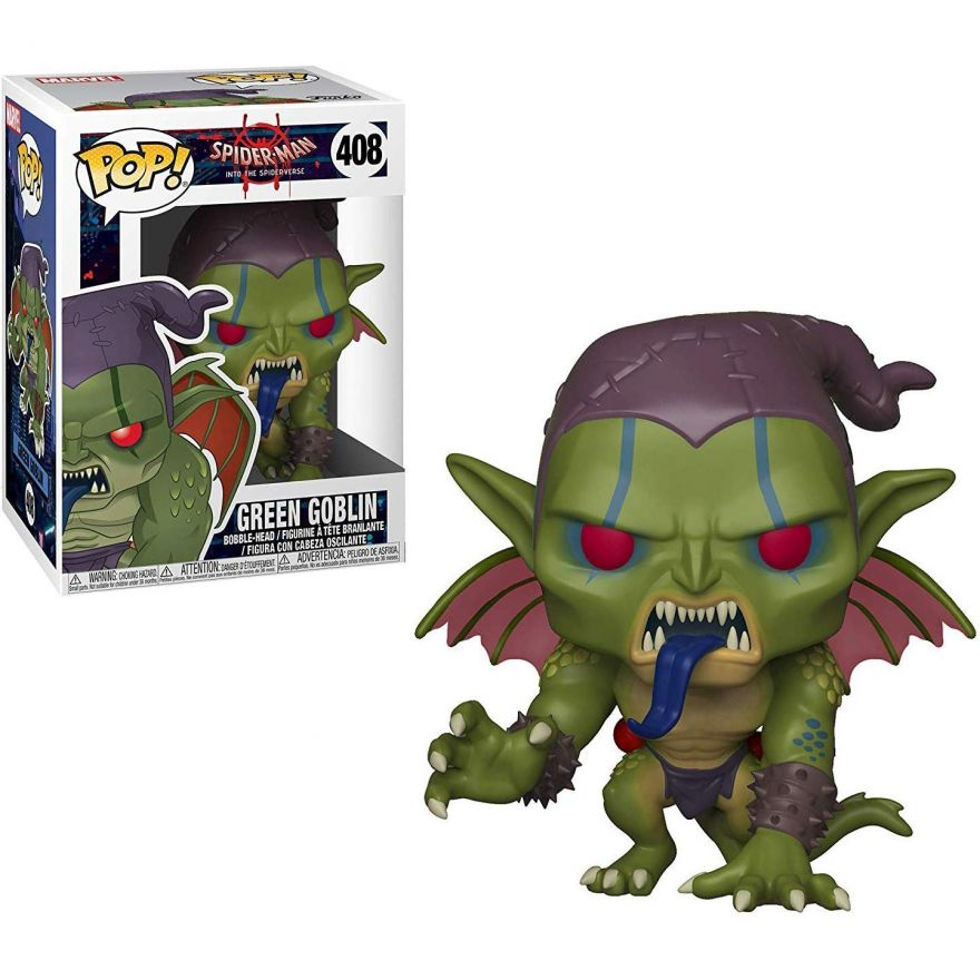 Фигурка Funko POP! Bobble: Marvel: Animated Spider-Man: Зелёный гоблин (Green Goblin) 33979