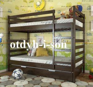 Кровать двухъярусная Рио №ДИ, любые размеры
