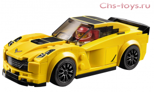 Конструктор Decool ULTRACAR Chevrolet Corvette Z06 78111 (Аналог LEGO Speed Champions 75870) 181 дет