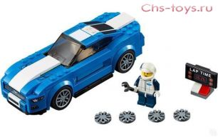Конструктор Decool ULTRACAR Ford Mustang GT 78112 (Аналог LEGO Speed Champions 75871) 193 дет