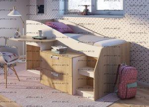 Кровать-чердак Скаут (80х190)