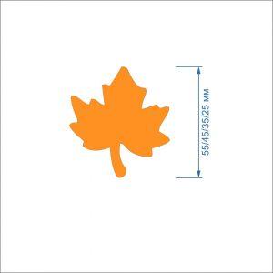 `Заготовка ''Кленовый лист-2'' , фетр 1 мм