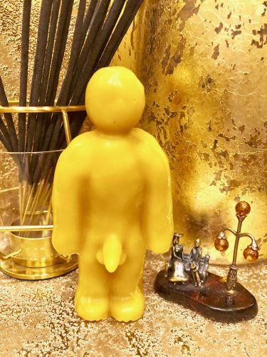 Вольт (Кукла Вуду)мужчина Желтая Воск