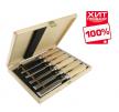 Набор столярных стамесок (долото) Narex в деревянном кейсе 6 шт (6, 10, 12, 16, 20, 26 мм) WOOD LINE PROFI  853055 ХИТ!