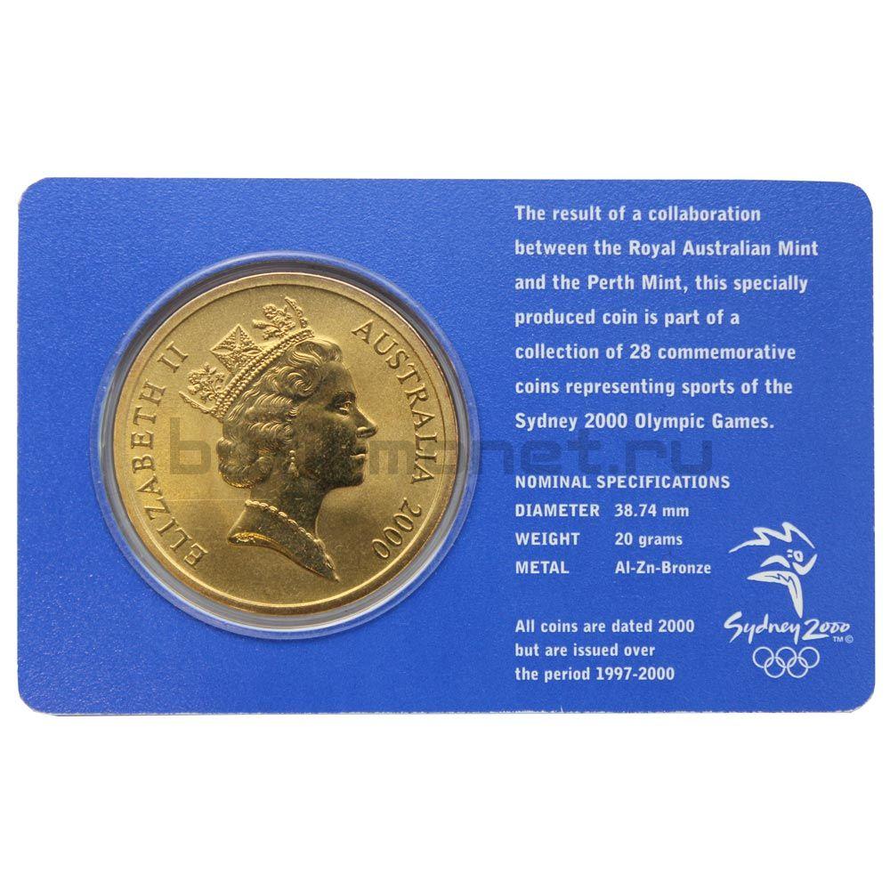 5 долларов 2000 Австралия Парусный спорт (Олимпийские игры в Сиднее)