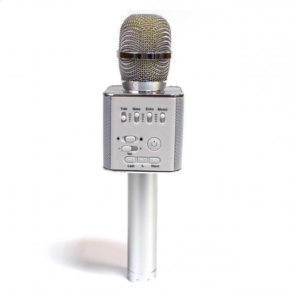 Micgeek Q9 Беспроводной Микрофон, Серебристый