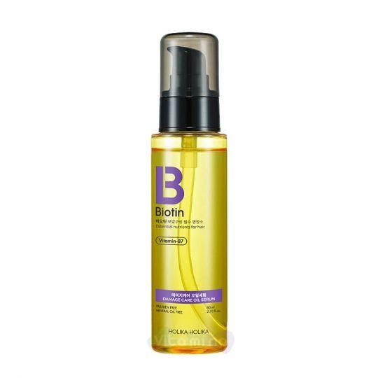 Holika Holika Масляная сыворотка с биотином для поврежденных волос Biotin Damage Care Oil Serum