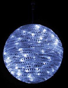 Шар подвесной LED (30 см, белый)