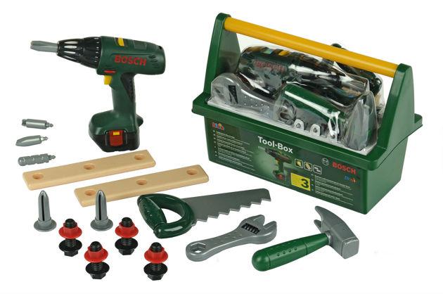 Набор инструментов с дрелью в ящике BOSCH Klein 8429