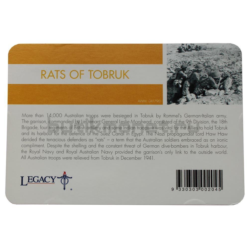 20 центов 2016 Австралия Крысы Тобрука (От АНЗАК до Афганистана)