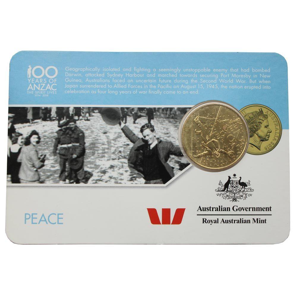 25 центов 2016 Австралия Мир (От АНЗАК до Афганистана)