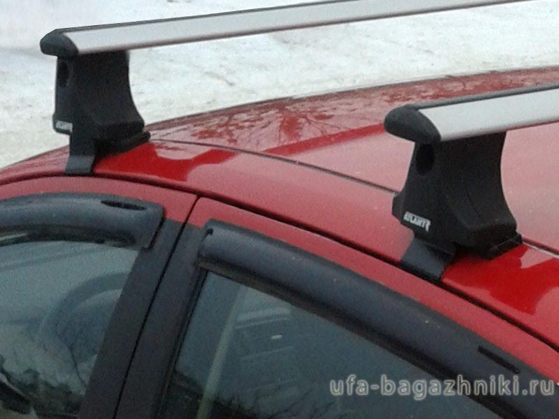 Багажник на крышу Fiat Punto, Атлант, крыловидные дуги