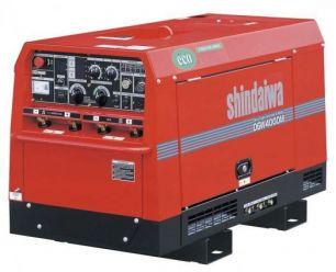 Сварочный агрегат и электрогенератор  Shindaiwa DGW400DMK